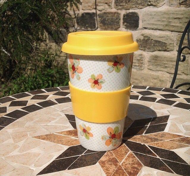 Homespun travel mug