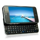 MegaGear Slim Designed Wireless Sliding Bluetooth Backlit Black Keyboard Case For Apple iPhone 5 (QWERTY) - #apple #iphone5 #appleiphone5 #iphone5accessories #iphone5cases -   Built-in rechargeable Lithium Battery charged via USB port.   Wireless pai