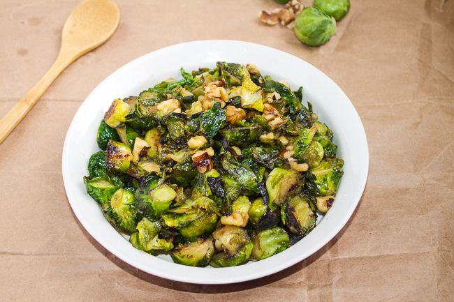 Brussels Sprouts with Walnuts Brussels Sprouts with Maple Syrup ...