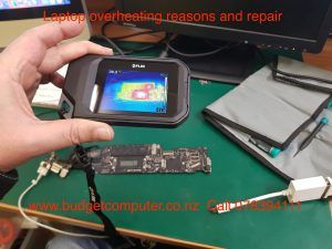 laptop overheating reasons and repair in hamilton new zealand. if your laptop is overheating or fan running fast or restarting most probably it need servicing bring it to budget computer hamilton 85 victoria street hamilton or call 078394111 read further here http://www.budgetcomputer.co.nz/blog/laptop-overheating-reasons-and-repair/