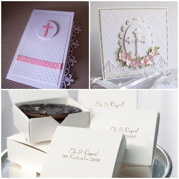 invitaciones o tarjetas para primera comunion de niña2