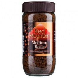 Red Mountain premium instant coffee granules. Made from the best beans from the red mountain to give a medium and well balanced coffee…