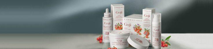 Goji illattal.  - Rendeld meg online! Parfüm és kozmetikum család az olasz Lerbolario naturkozmetikumoktól