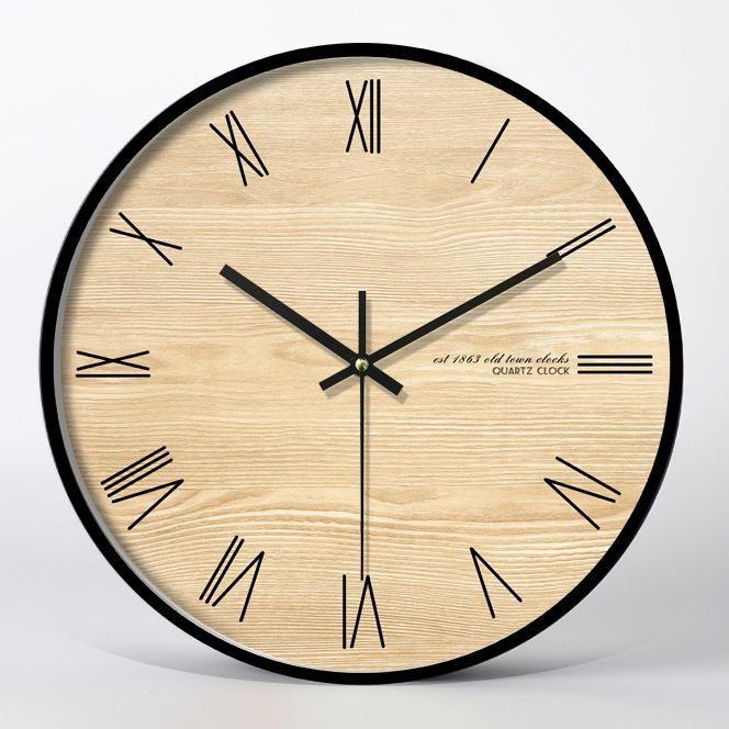 Classic Wall Clock Decor Living Room Maccorral Wall Clock Classic Clock Wall Clock