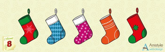 Karácsonyi zoknik | Amistyle Webdesign