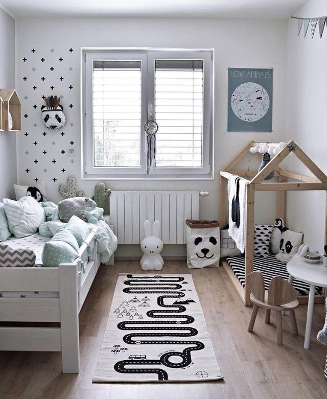 Denken Sie an den Teppich für die Kinder. Ein süßes Kinderzimmer – ist für mich #Kinder
