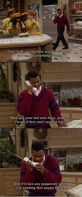 Gotta love poor sad lonely Carlton.