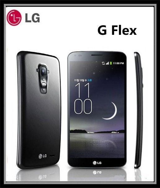 Original phone Unlocked LG G Flex F340 D958 13MP Camera 2GB RAM 32GB ROM Quad-core 3G 4G NFC 6 inch Touch Phone Free Shipping