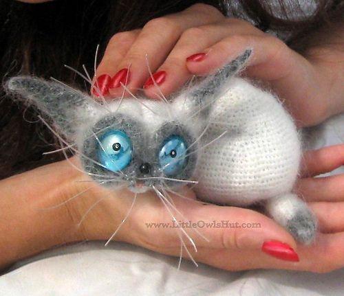 Ravelry: Cat Siam Crochet Pattern by Pertseva pattern by Ekaterina Sharapova
