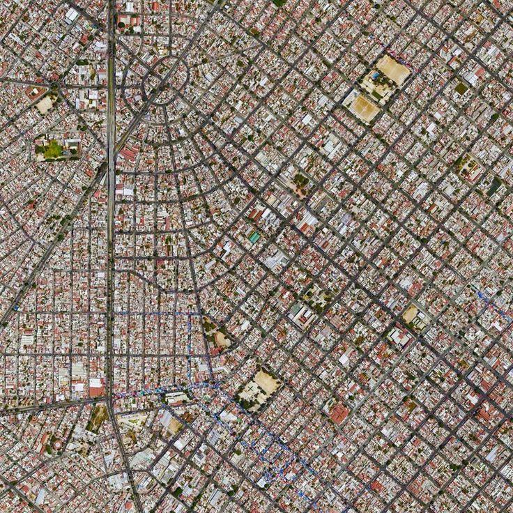 Guadalajara, Mexico. Image Courtesy of Daily Overview. © Satellite images 2016, DigitalGlobe, Inc