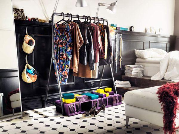Wardrobe Storage Idea  Clothes Rack   Bedroom Wardrobe StorageStorage  Closet IdeasOrganization. 1000  images about Bedroom storage ideas on Pinterest   Clothes