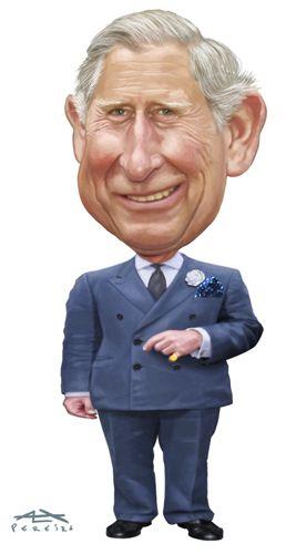 very rare Prince caricatures | Cartoon: Prince Charles (medium) by Alex Pereira tagged prince,charles