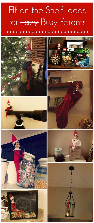 2 Minute Elf On the Shelf Ideas