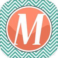 Monogram Wallpapers HD - FREE Download Beautiful Chevron Pattern Theme Wallpaper Maker by Space-O Infoweb