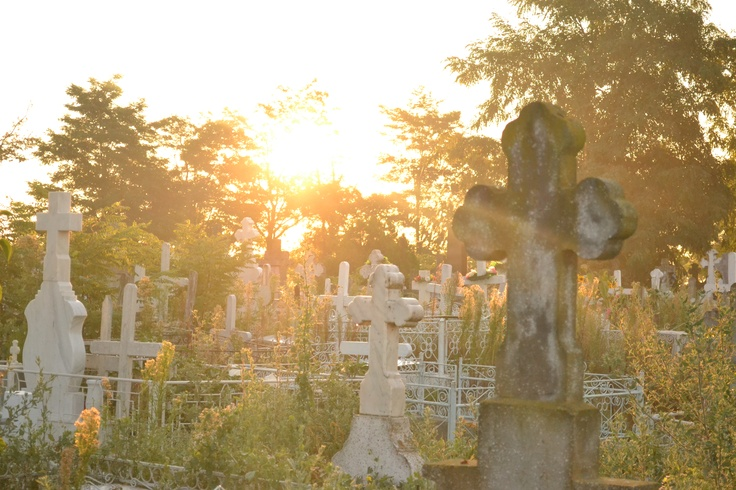 Sulina Cemetery, 5-6'o clock in the morning, Romania