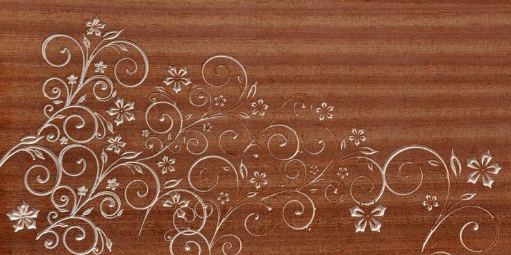 panel ze sklejki w fornirze z afrykańskiego orzecha