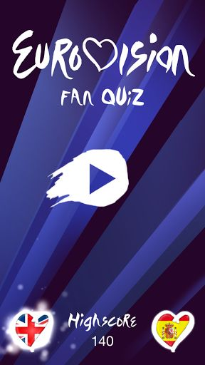 Welcome to the best Eurovision Song Contest Quiz!!. In this app you will challenge your Eurovision knowledge by answering hundreds of questions with an increasing difficulty. Created by Eurofans for Eurofans!!With Eurovision Fan Quiz you'll play with friends and show them if you are a real fan. How much do you know about the Grand Prix? The forum members will face each other, from ESCForum, Foro Eurosong Contest, Eurpvision, and other communities. Who will be the best of ESCForum, Euro...