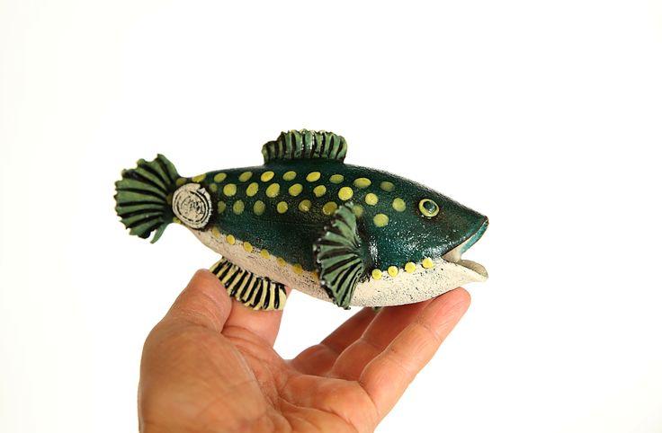 Puffer Fish Ceramics, handbuilt sculpture
