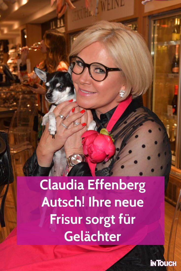 Claudia Effenberg Autsch Ihre Neue Frisur Sorgt Fur Gelachter In 2020 Neue Frisuren Frisuren Effenberg