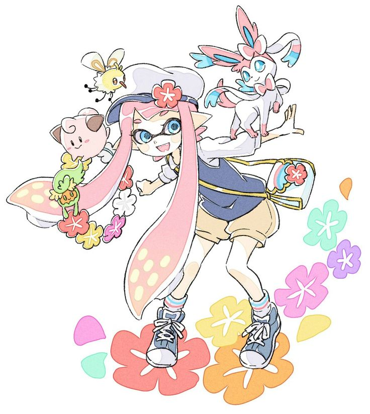 Splatoon x Pokemon - Fairy Types