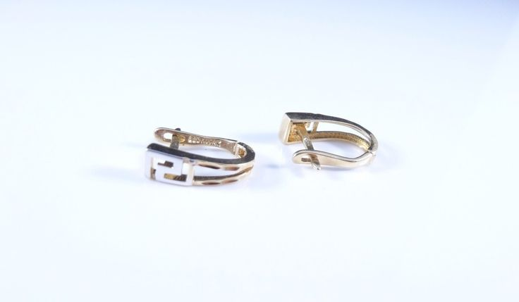 $156 14K Gold Earrings, info@bijuterie-online.ro.