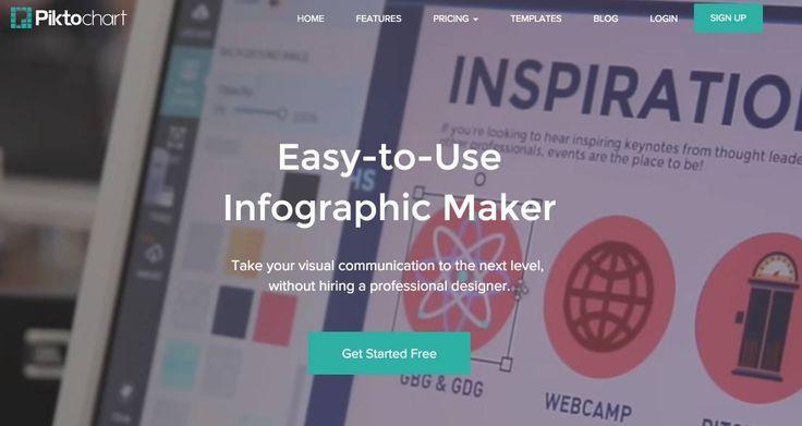 Piktochart. Formidable outil en ligne pour créer des infographies professionnelles. #Tice