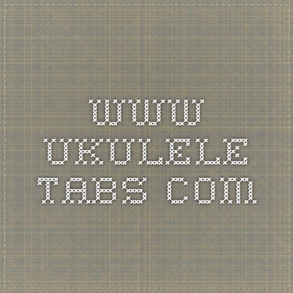 51 Best Ukulele Images On Pinterest Ukulele Chords Tablature And