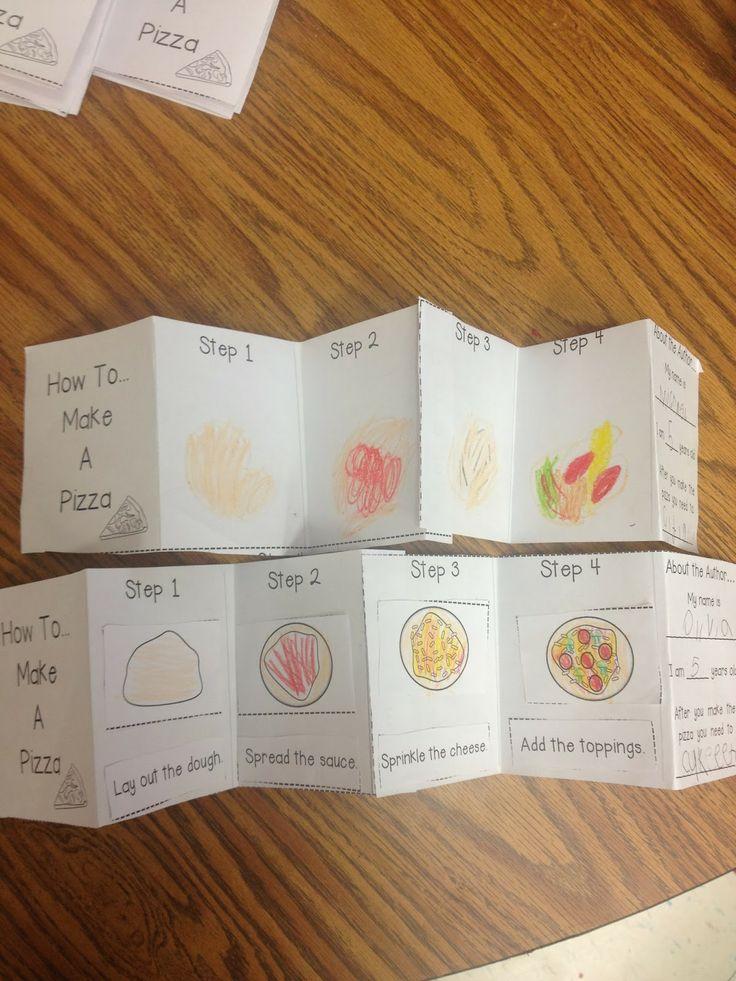 Teaching 'How To' Writing To Kinders!