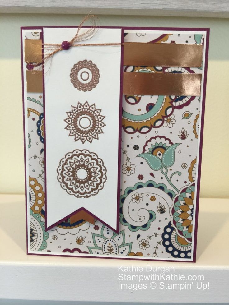 Stampin' Up! Paisleys & Posies