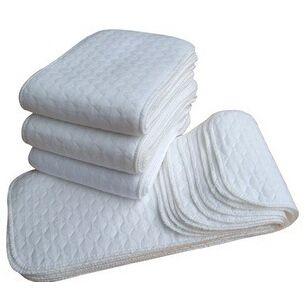 3 слой микрофибра детские ткани одежда подгузник подкладка вмонтированная Reuseable все в ткань одежда