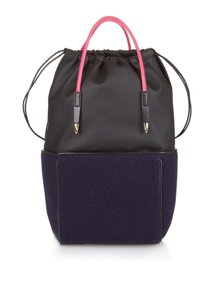 Top-handle felt backpack | Toga | MATCHESFASHION.COM US