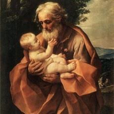 St. Joseph: Catholic, St Joseph, Holy Family, Art, St. Joseph, Infants, Saint Joseph, Guido Kidneys