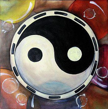 Jin Jang Mandala by Vilem Buchmann