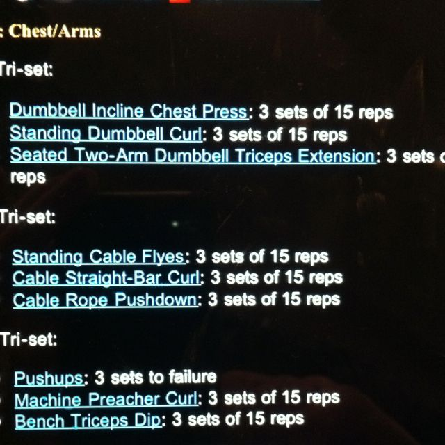Great chest and arm workout from Figure Olympia champion, Nicole Wilkins Lee.