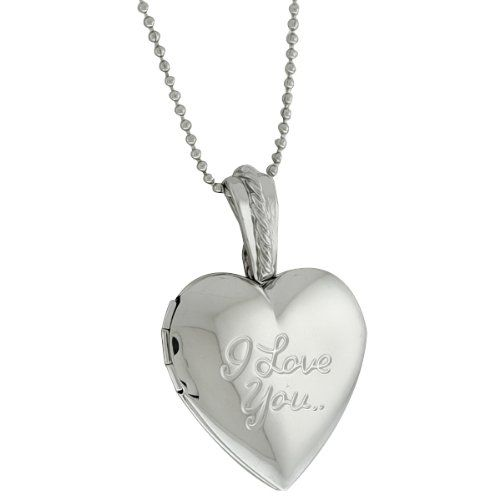 Stunning Heart Shape with I Love You Engraved Locket Pendant With 28 Inch Chain Gem Stone King http://www.amazon.com/dp/B00767C52Q/ref=cm_sw_r_pi_dp_vZotwb02KVXHS