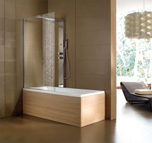 Oltre 25 fantastiche idee su vasca da bagno doccia su pinterest bagno con tenda piccola vasca - Combinati vasca doccia ...