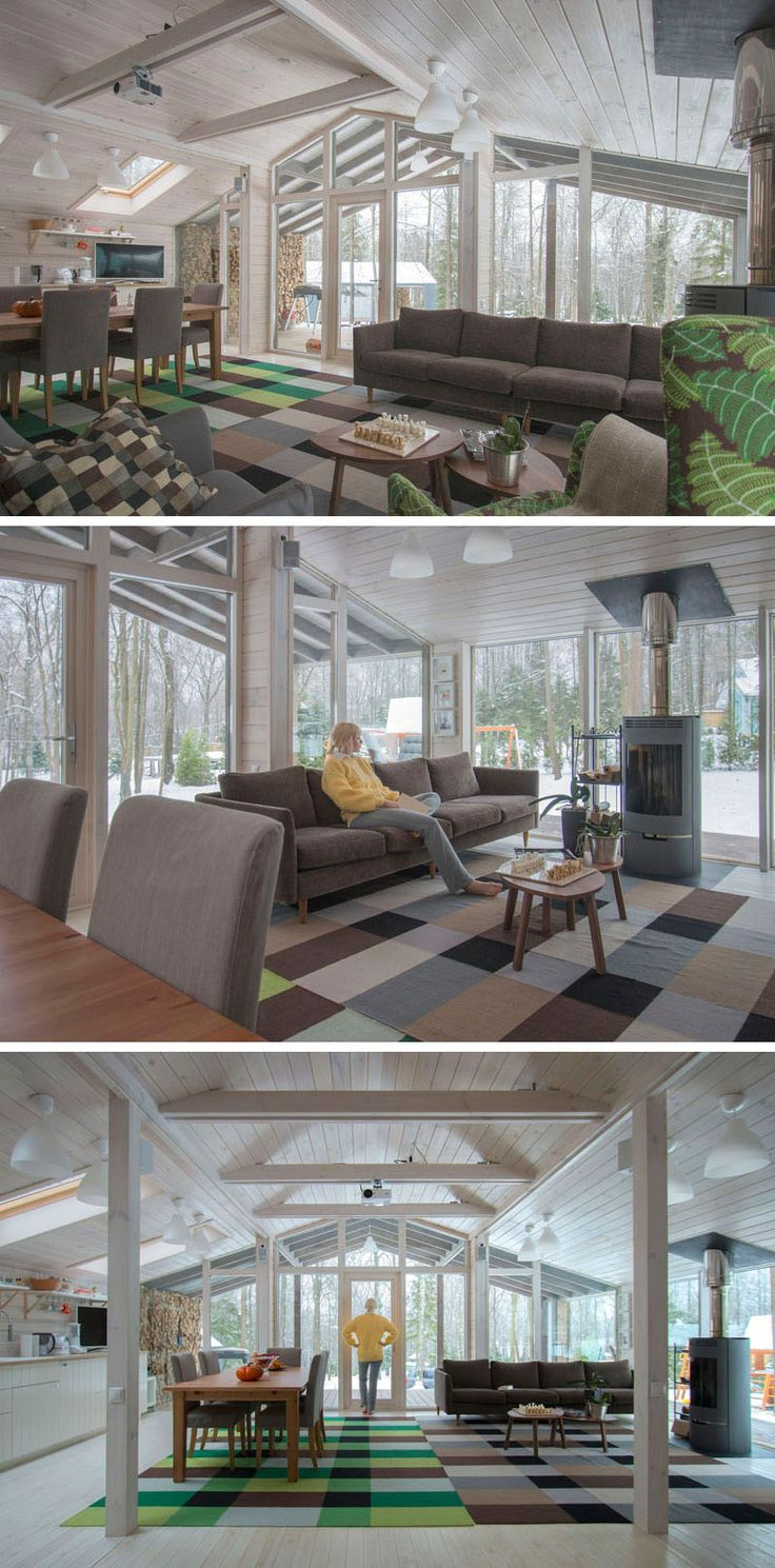 Rustic Residence Designed By Tierney Haines Architects: 17 Best Ideas About Rustic Modern Cabin On Pinterest