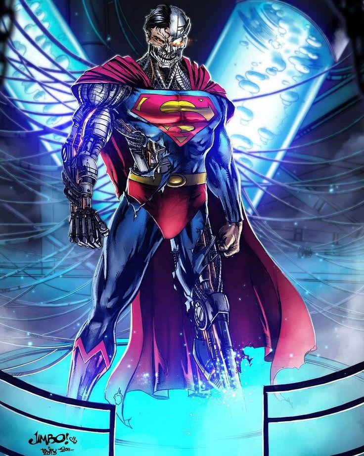 Cyborg Superman By Devilzsmile.com #devilzsmile