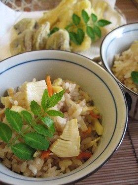 筍ごはん by KLM♡ [クックパッド] 簡単おいしいみんなのレシピが250万品