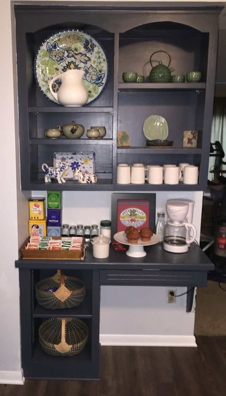1000 ideas about tea station on pinterest coffee stations coffee corner and wine station. Black Bedroom Furniture Sets. Home Design Ideas