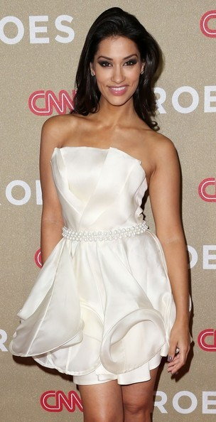 Janina Gavankar Wore P3R's Client Christiane King to the CNN Heroes Awards