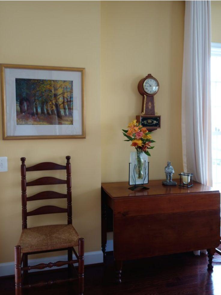 Warm Gold Living Room Detail Amy Krane Color DC Condo Color Pinterest