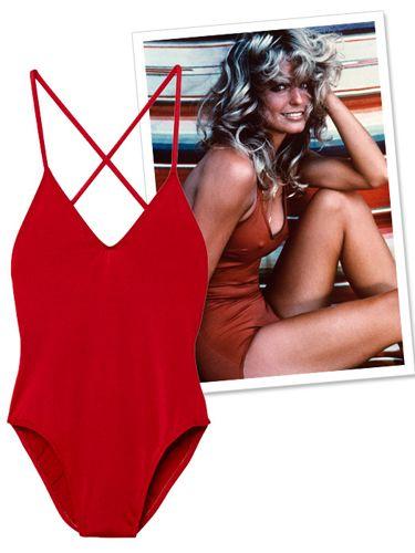 chi non ricorda la splendida Charlie's Angel strizzata in un costume da bagno rosso fuoco? Audaci, le sue innovative creazioni, da vera trendsetter.