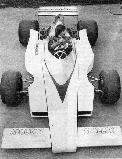 Apollon Loris Kessel  Williams FW03-IR03