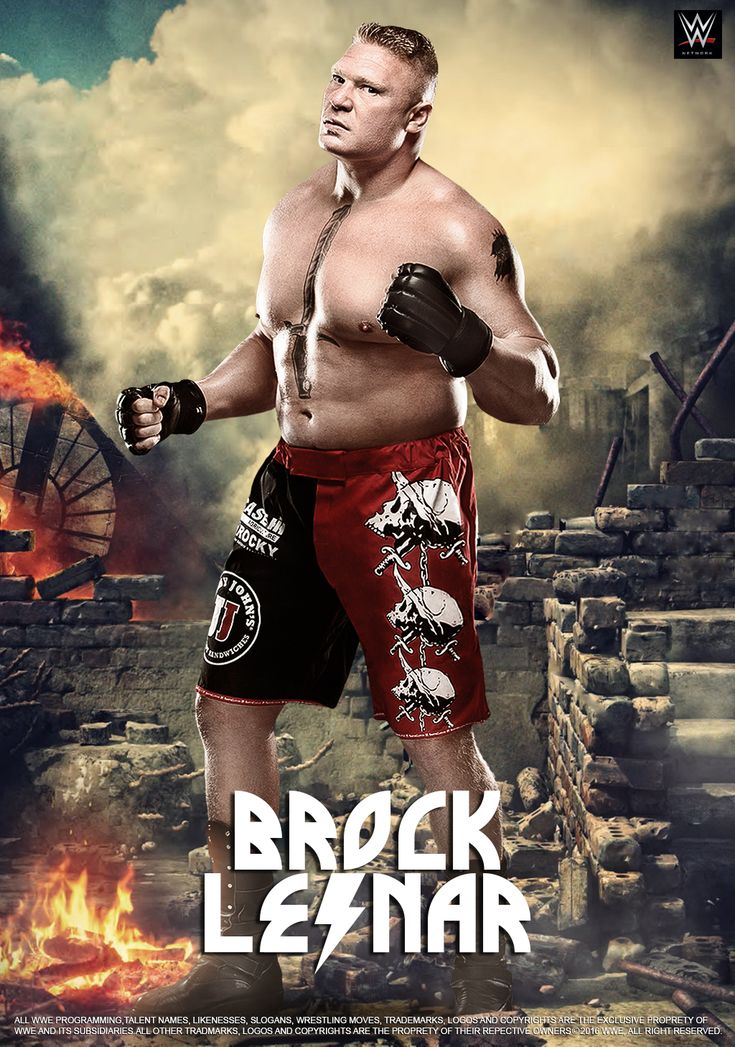 WWE Brock Lesnar 2016 POSTER by edaba7.deviantart.com on @DeviantArt