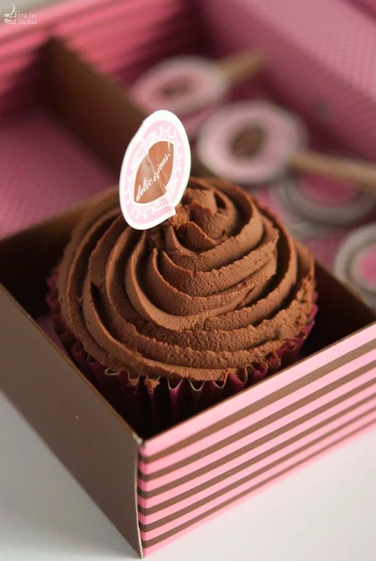 Cupcake al cioccolato fondente e caffè - Vera in cucina
