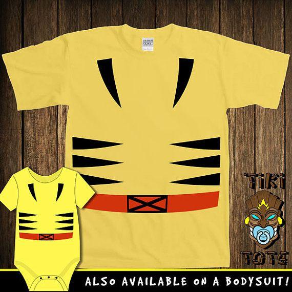 Funny Wolverine Halloween Costume Bodysuit Toddler by TikiTotsShop