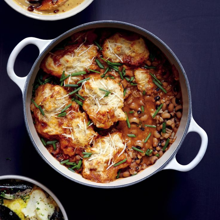 Bean and barley soup with spiced dumplings - MyKitchen