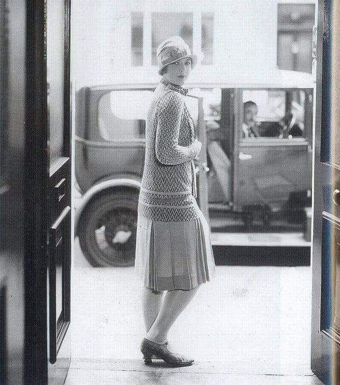 Pangaltı'da Bir Bayan,  (1920 ve 1930 arası)
