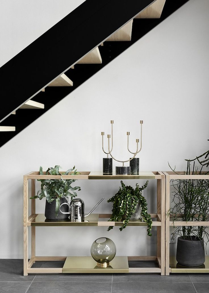Grasil candleholders, Vivero watering can and Globe vase featured on myscandinavianhome.com. June 2017